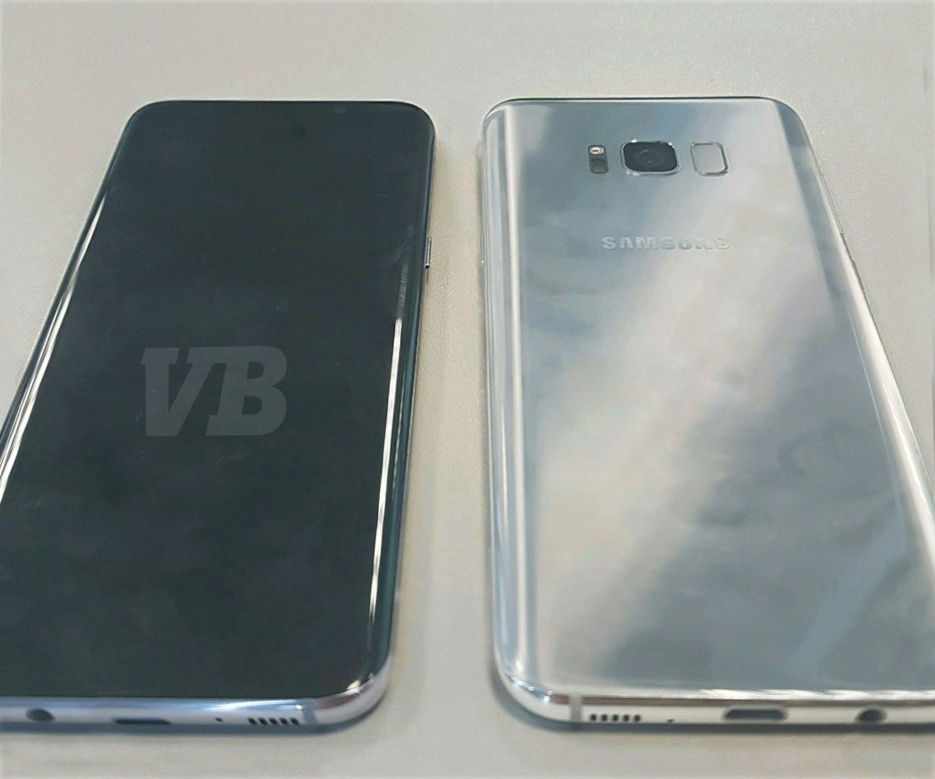 Site Venture Beat disse que esta é a foto exclusiva do Galaxy S8 (Crédito: Reproduç]ao/Twitter/Venture Beat)