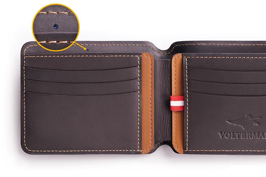 5f7e953672 Criaram uma carteira que tira foto de assaltante e até carrega celular