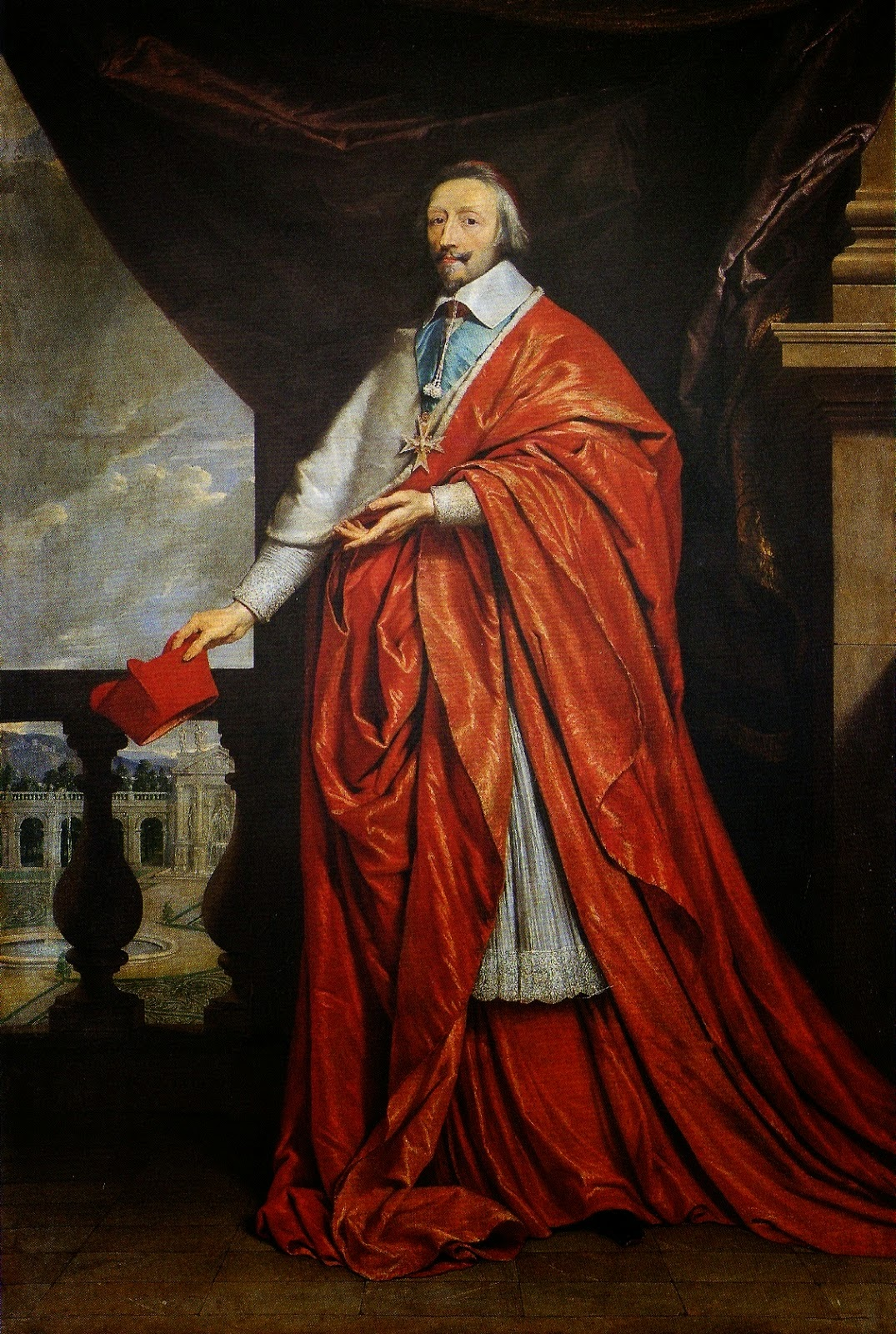 Armand Jean du Plessis, Cardeal-Duque de Richelieu e de Fronsac.