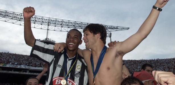 Robinho e Diego