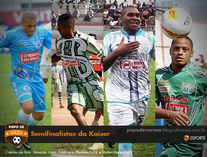 Conheça os quatro semifinalistas da Copa Kaiser - Esporte - UOL Esporte bd28d2f098d14