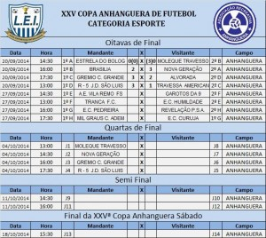 XXV Copa anahnguera