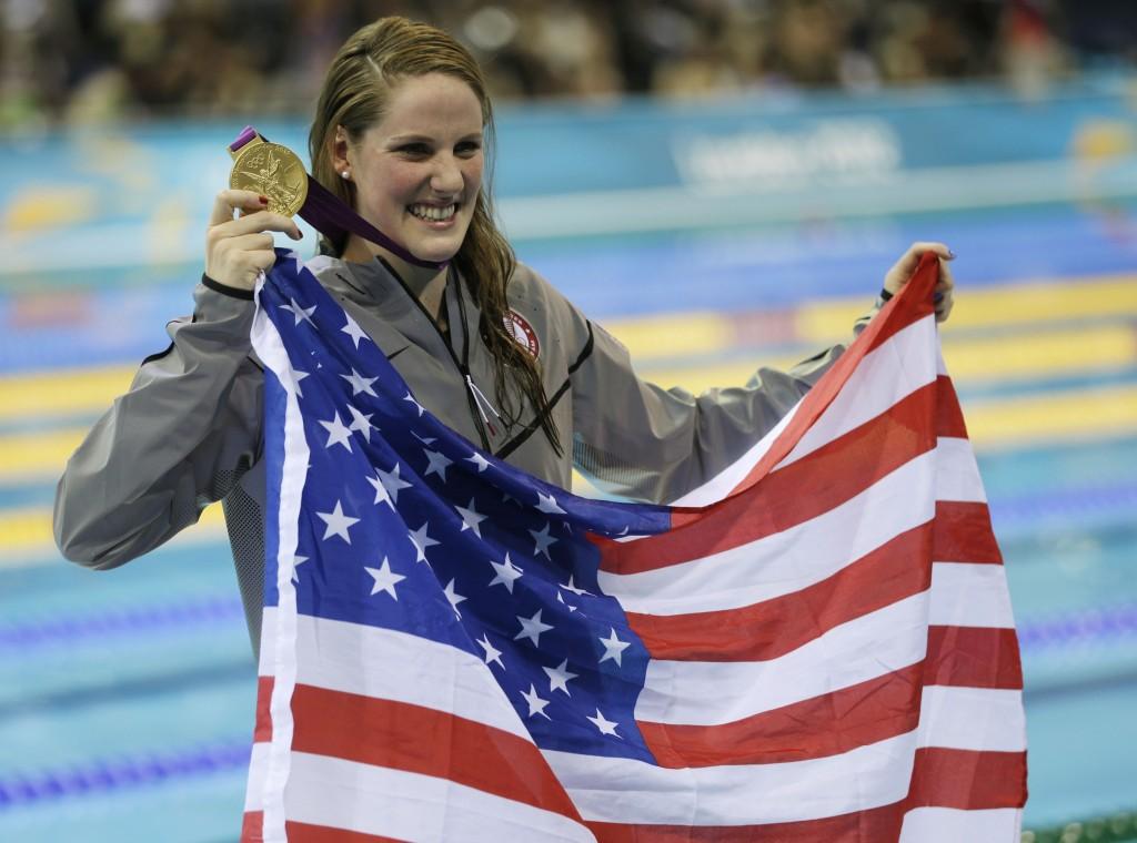 Missy Franklin é referência da natação feminina norte-americana