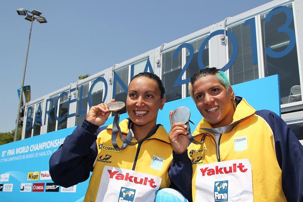As líderes do circuito, Poliana e Ana Marcela nadarão em Setúbal - Foto: Satiro Sodré