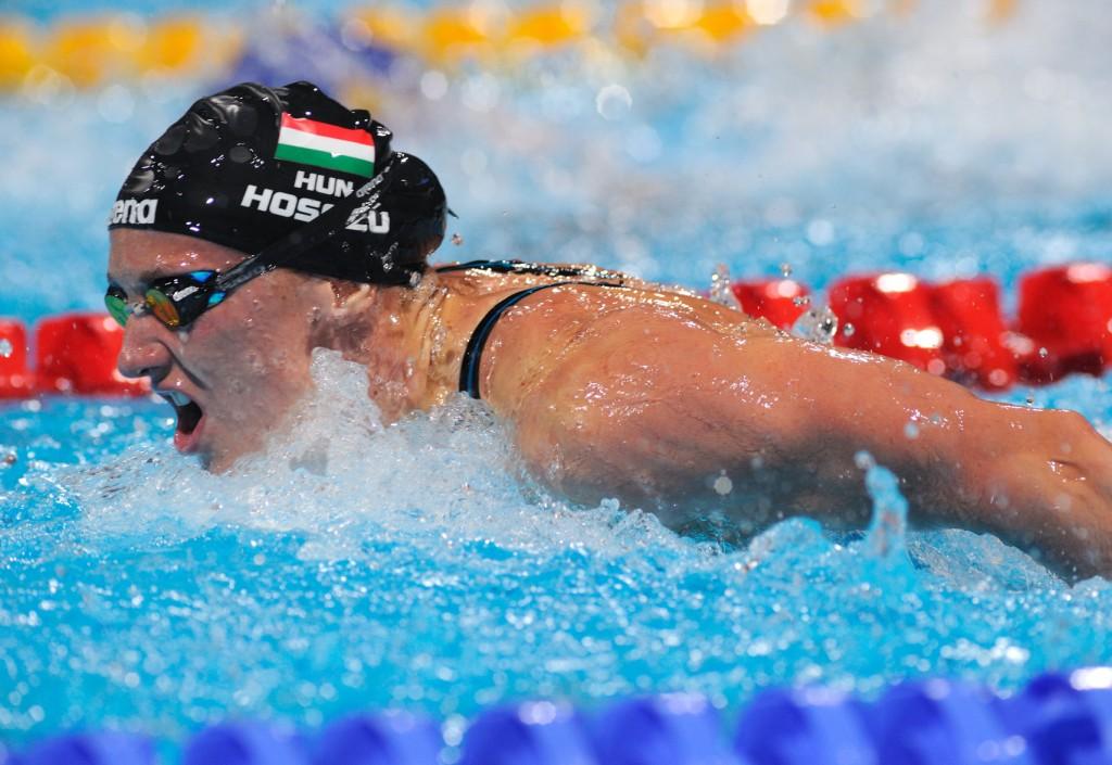 Katinka Hosszu venceu as provas de medley em Barcelona