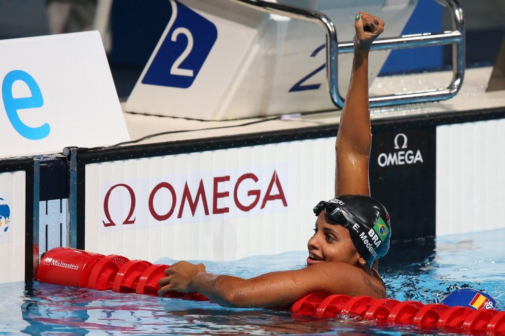 Etiene Medeiros, o melhor resultado da história da natação feminina do Brasil - Foto de Satiro Sodré