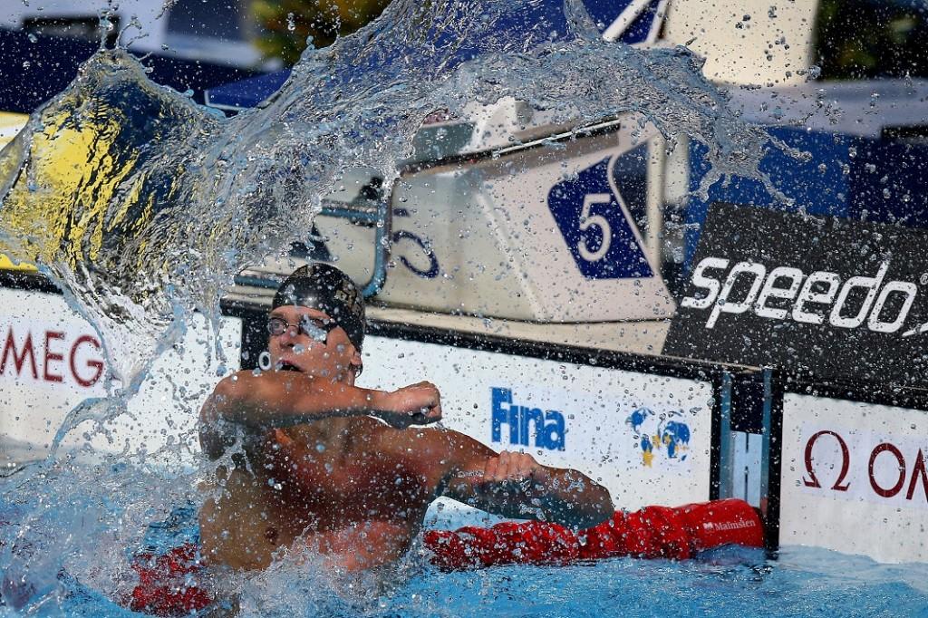 Cesar Cielo: em busca da dobradinha nos 50m e 100m (foto: Satiro Sodré)