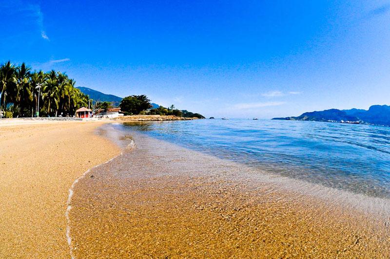 Praia do Perequê em Ilha Bela