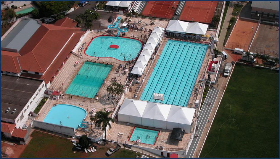 Vista aérea do Parque Aquático da Mocoquense - Foto: Reprodução