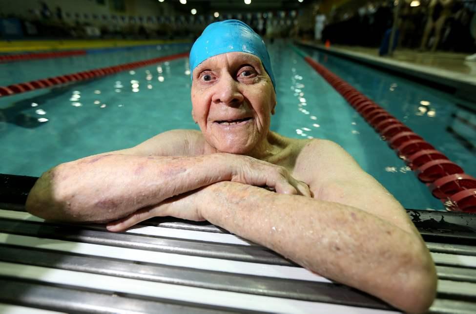 O nadador master Jaring Timmerman - Foto: Reprodução