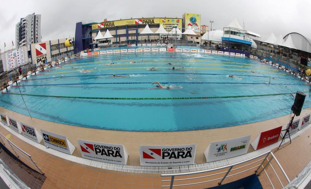 Vista da piscina onde será disputado o Brasileiro Master - Foto: Satiro Sodré