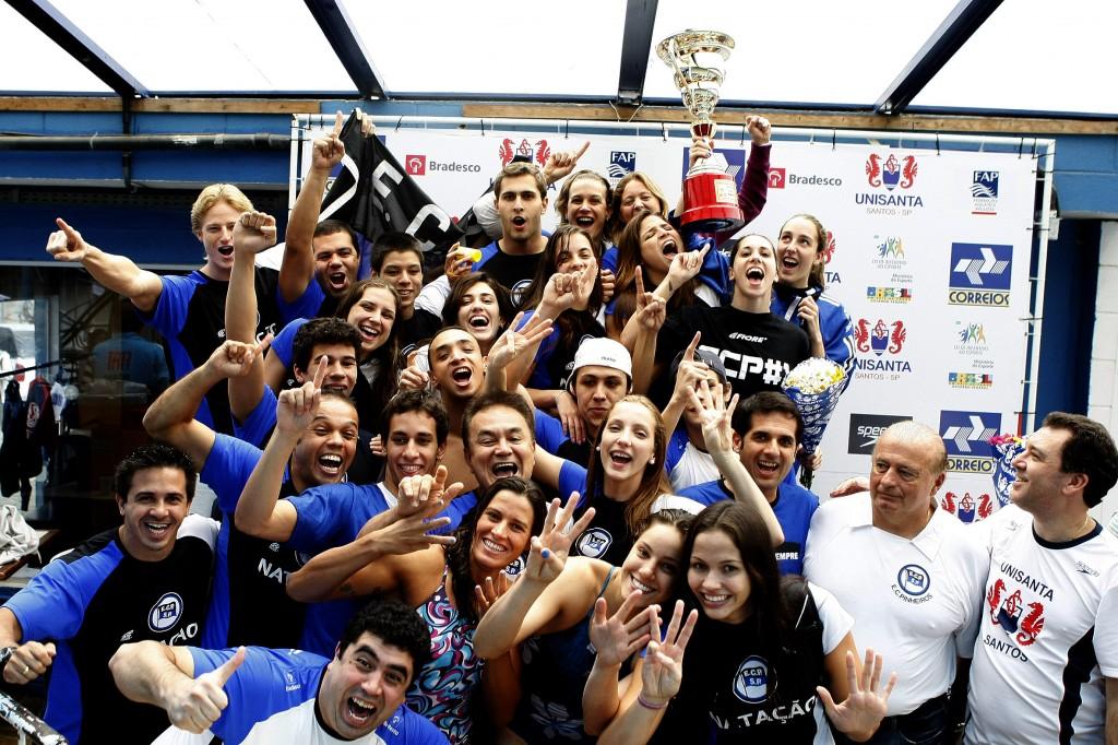 O Pinheiro tem 13 títulos no Maria Lenk, mas não vence desde 2010 - Foto: Satiro Sodré