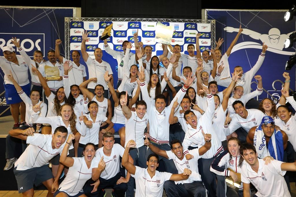 O Minas TC é o atual campeão e tem 9 taças do Troféu Maria Lenk - Foto: Satiro Sodré