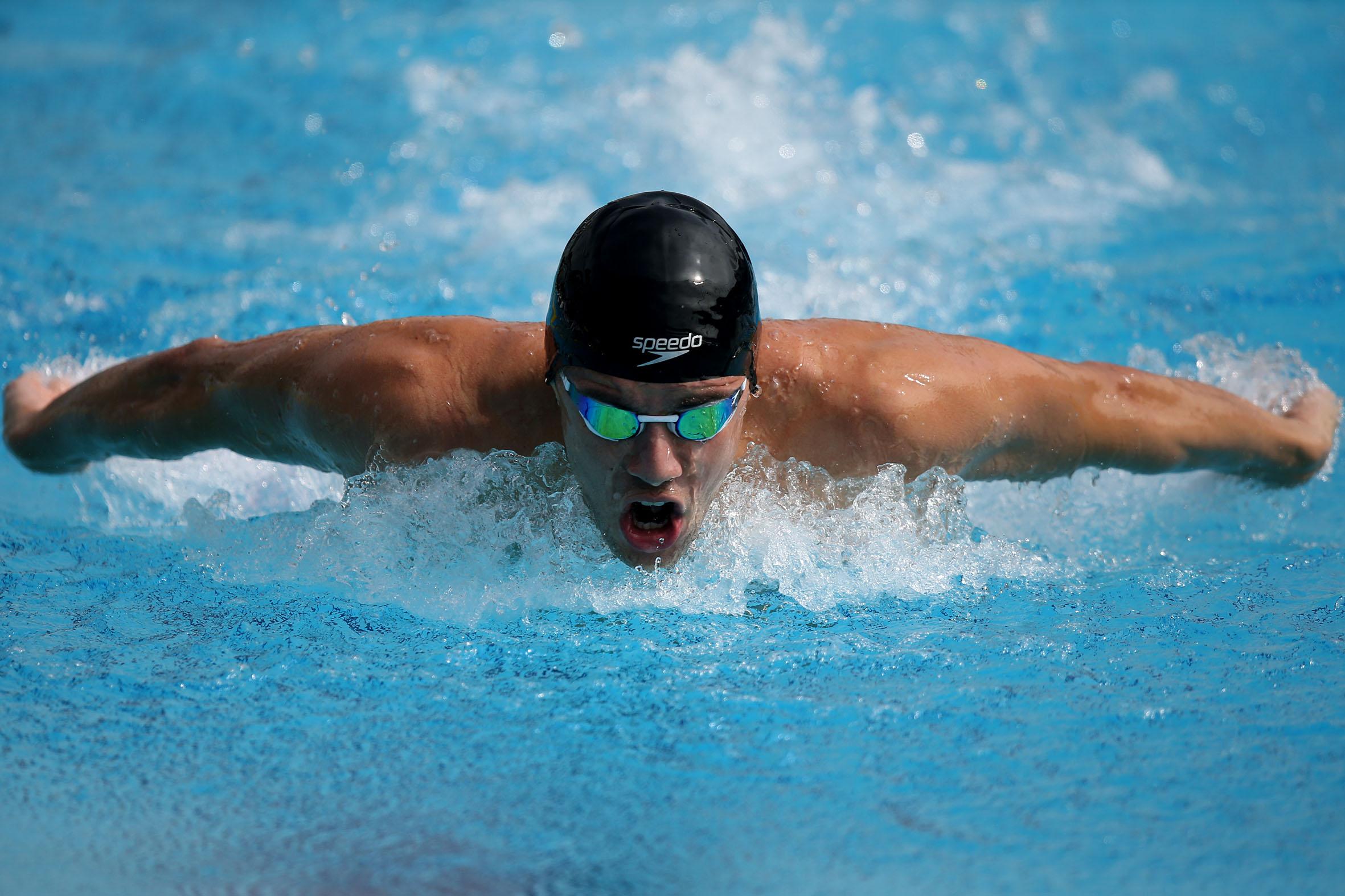 136ee7b8b Thiago é agora atleta da Speedo Internacional e já está utilizando  materiais da marca - Foto
