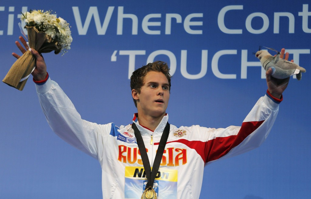 Morozo deve entrar no top dos 50m e 100m livre após o Campeonato Russo - Foto: Murad Sezer/ Reuters