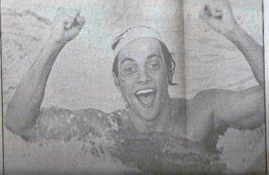 Mattiolli no Campeonato Brasileiro de 1977 - Foto: Arquivo Pessoal