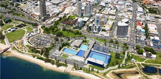 Piscina do Pan Pacífico, em Gold Coast - Foto: Swimming Australia