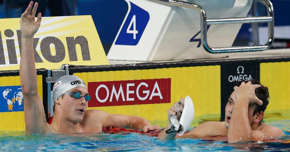 Morozov e Manaudou duelam nos 50m livre - Foto: Murad Sezer/Reuters