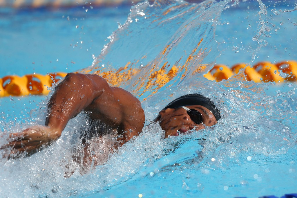 Nicolas Nilo fechou o 4x100m livre - Foto: Satiro Sodré