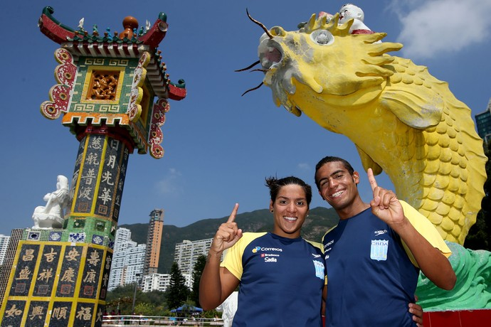 Etapa de Hong Kong encerrou a Copa do Mundo perfeita de Ana Marcela e Allan