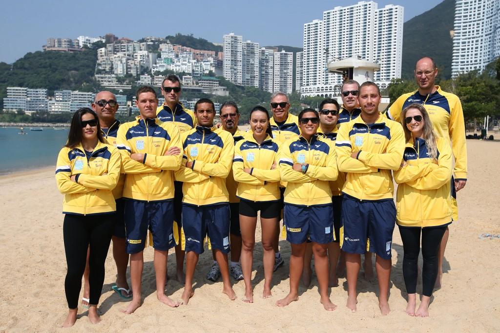 A seleção brasileira de águas abertas, cada vez mais a melhor do mundo - Foto: Satiro Sodré