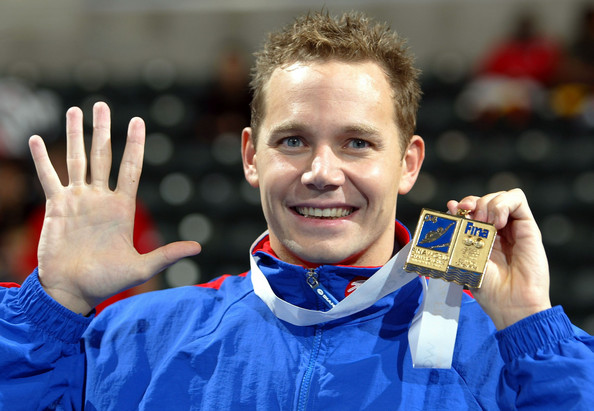 James Hickman tem cinco medalhas de ouro - Foto: Harry How/Getty Images