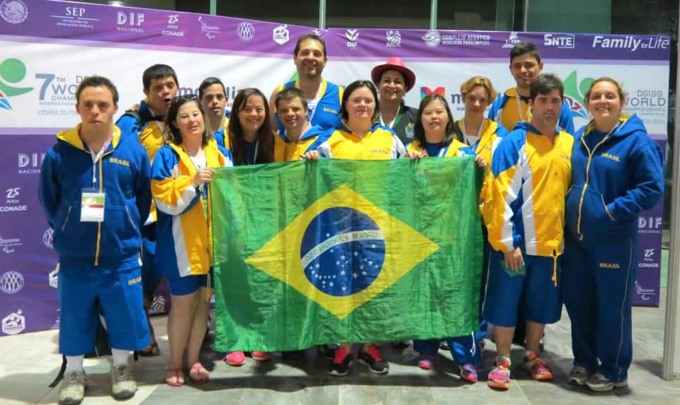 Parte da delegação brasileira no Mundial da DSISO - Foto: Divulgação