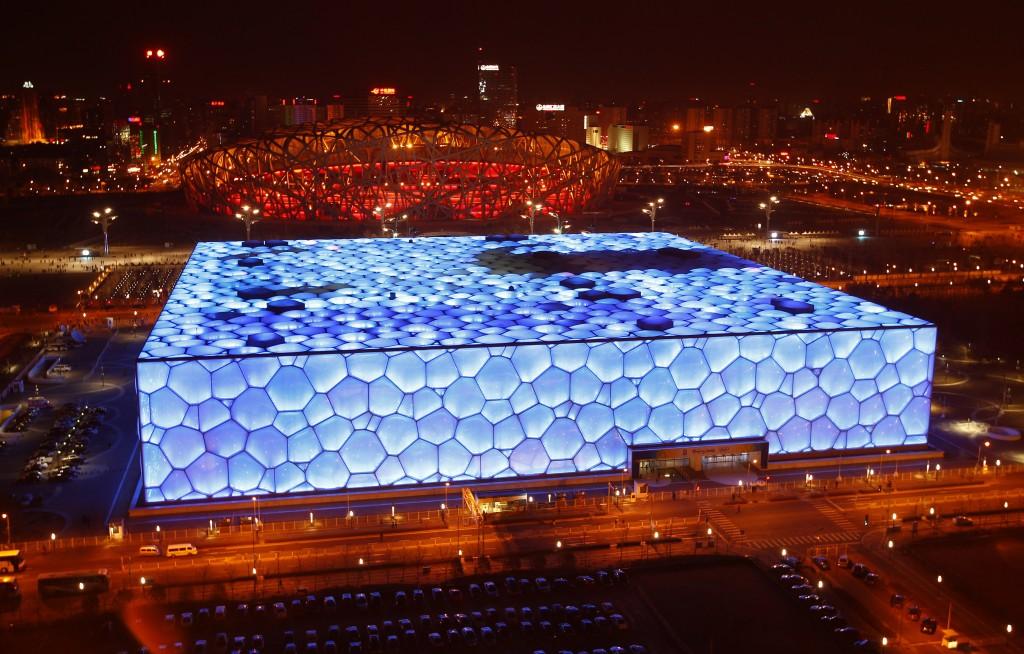 O magnífico Cubo D'água  em Pequim - Foto: David Gray/Reuters