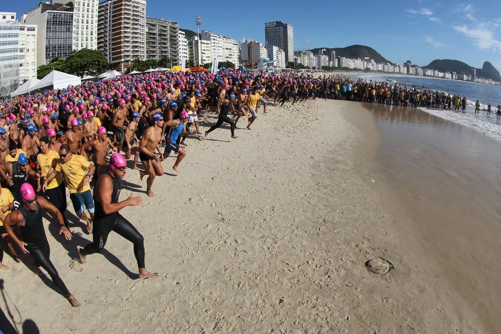 Haverá três provas de águas abertas para nadadores amadores - Foto: Satiro Sodré