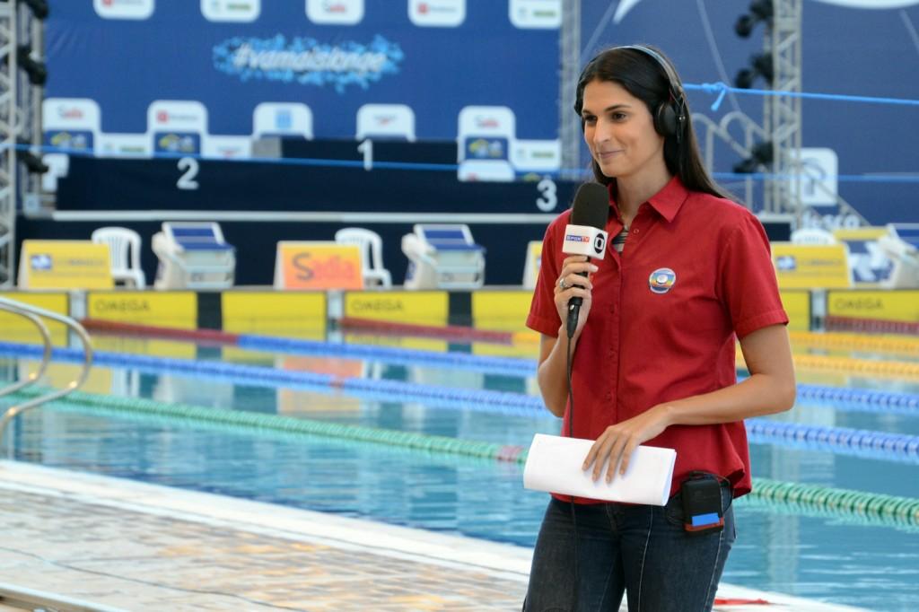 Mariana Brochado: Das piscinas para as telas da TV - Foto: Osvaldo F./Contrapé