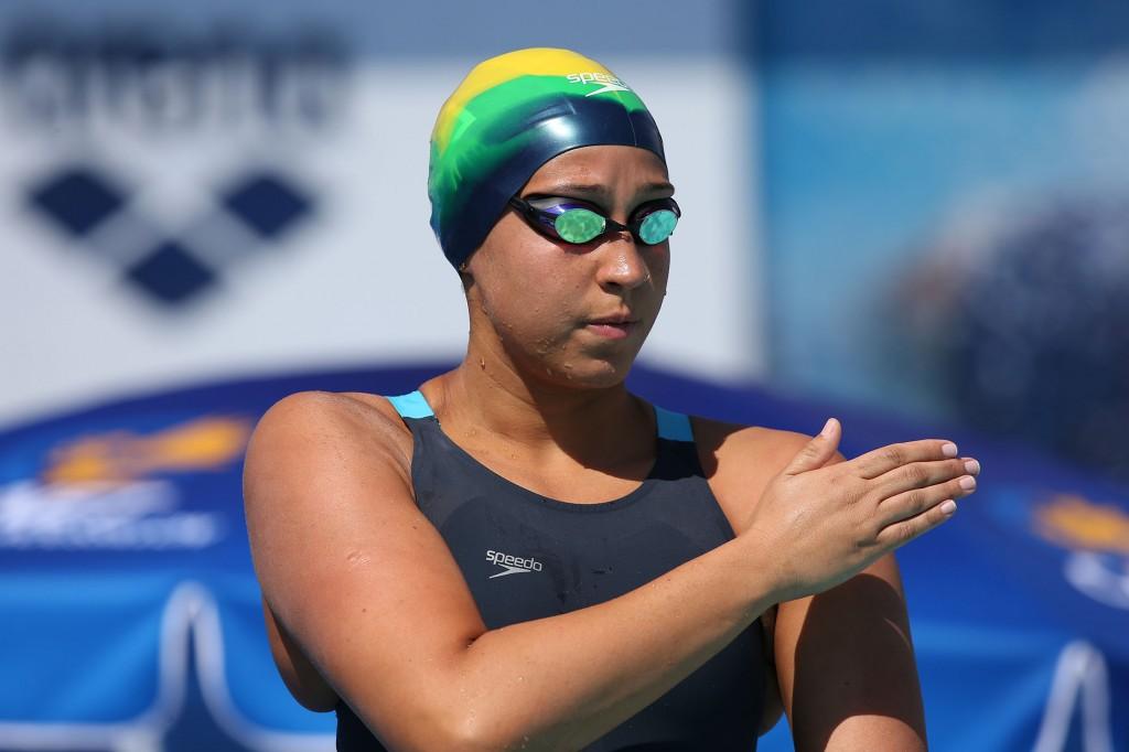 Jessica Cavalheiro pode ser a terceira nadadora com 1min59s no 4x200m livre- Foto: Satiro Sodré