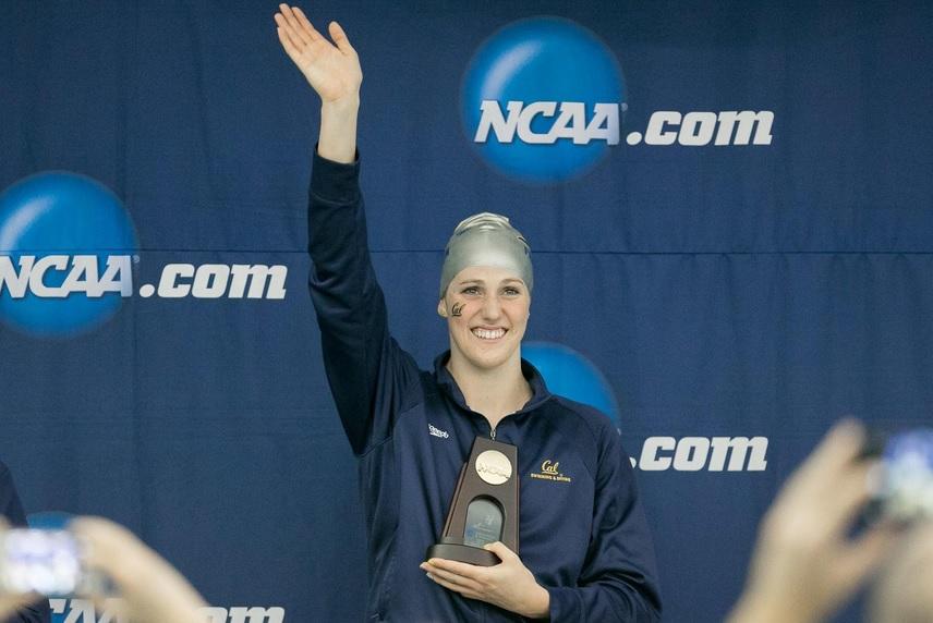 Missy Franklin encerra com chave de ouro a sua participação universitária na NCAA