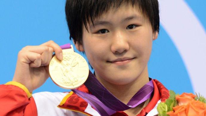 Ye Shiwen, dona do fim de prova mais impressionante de todos os tempos nos 400m medley - Foto: Martin Bureau/AFP