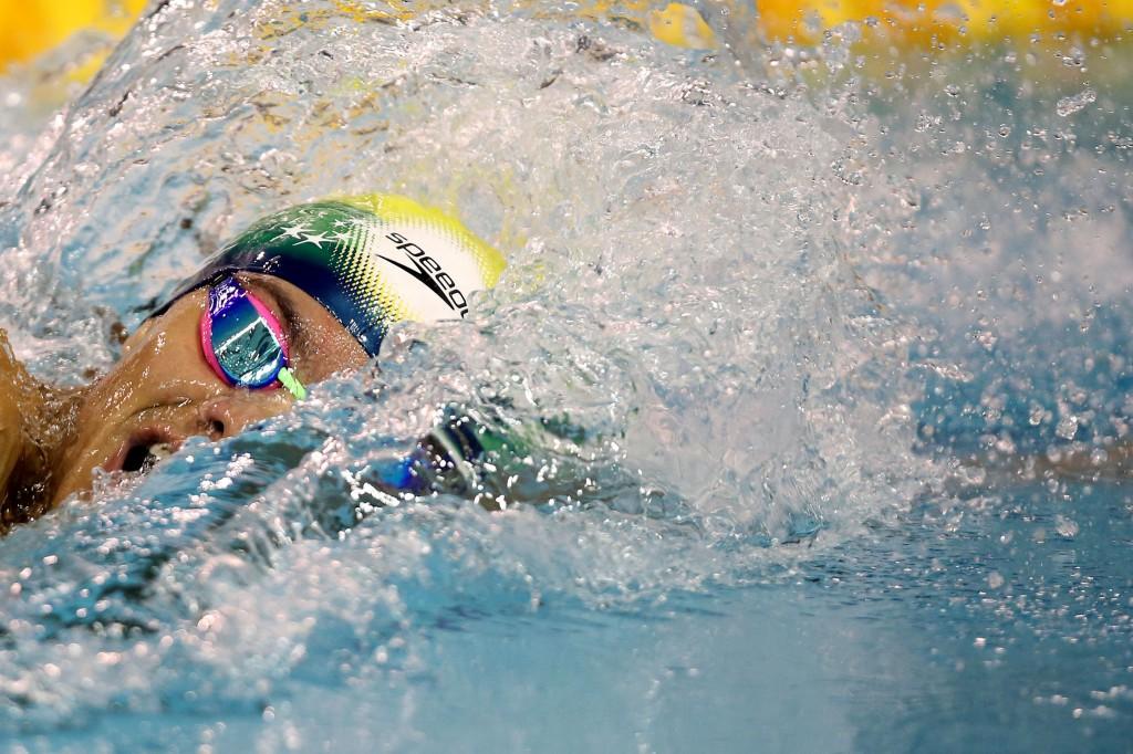 Felipe espera chegar aos 48 segundos no Mundial de Cingapura - Foto: Satiro Sodré
