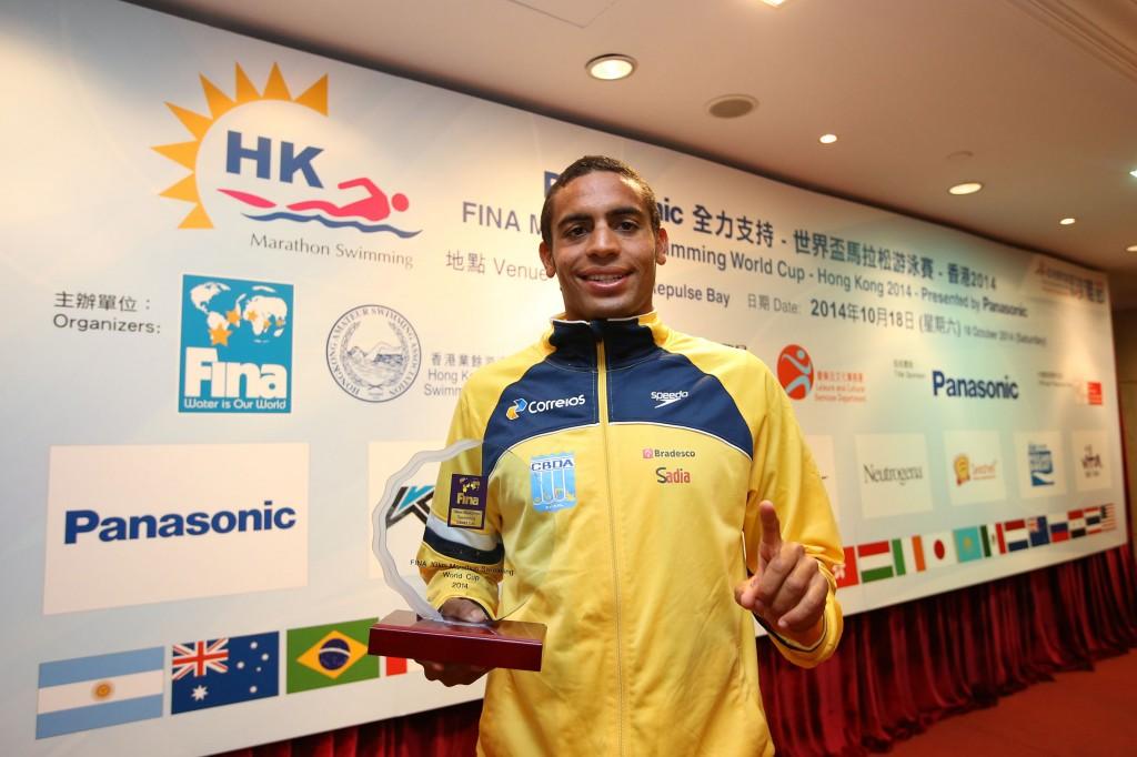 Allan foi eleito ano passado o melhor nadador pela Fina - Foto: Satiro Sodré