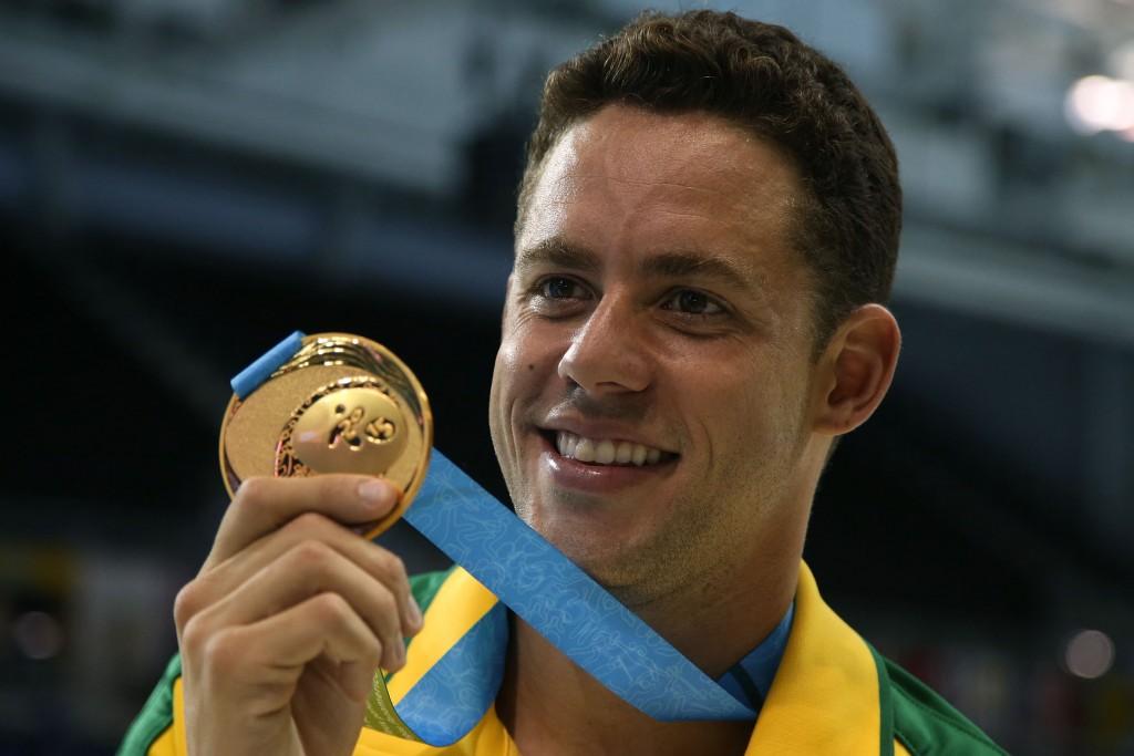 O nadador Thiago Pereira - Foto: Satiro Sodre/SSPress