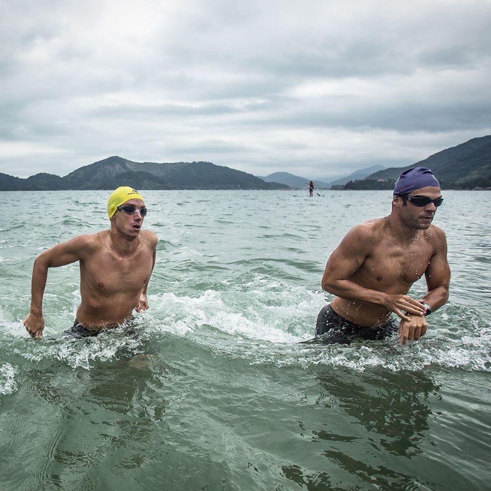 Marcos Campos e Samir Barel,  os aquamans - Foto: Rômulo Cruz