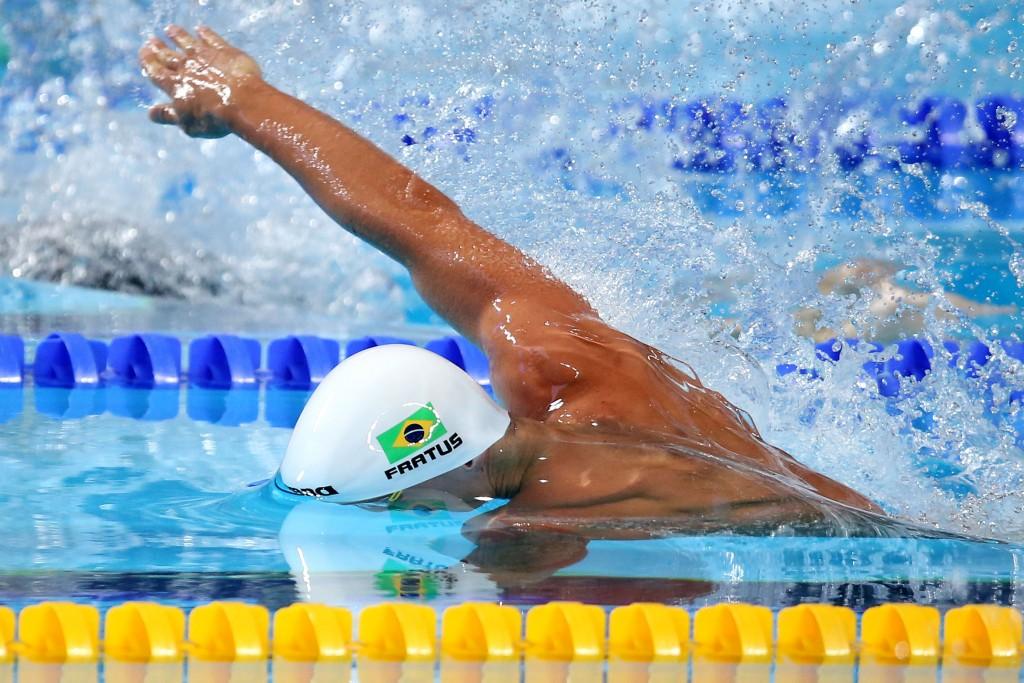 Fratus já nadou 31 vezes abaixo dos 22 segundos - Foto: Satiro Sodre/SSPress