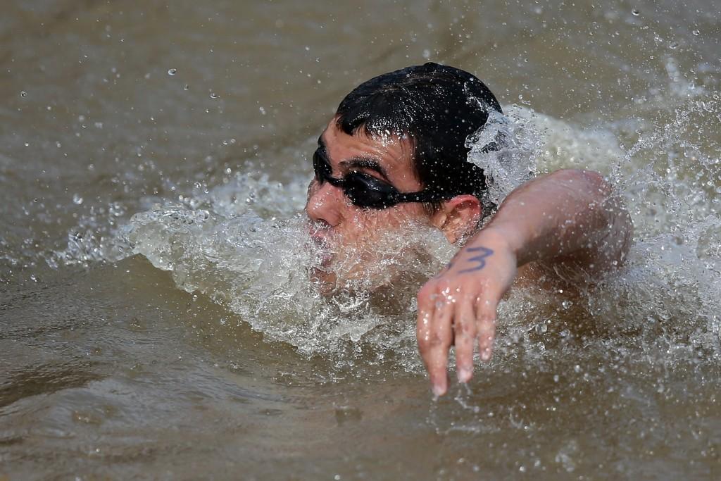 O nadador Victor Colonese - Foto: Satiro Sodré/SSPress