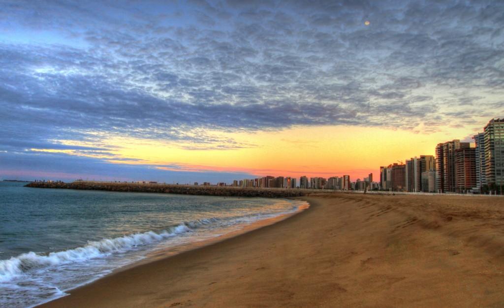 Vista da Praia de Iracema - Foto: Reprodução/Internet