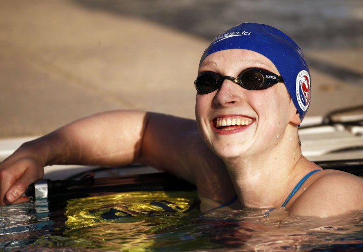 Katie Ledecky segue imbatível - Foto: Arizona Republic/USA Today Sports