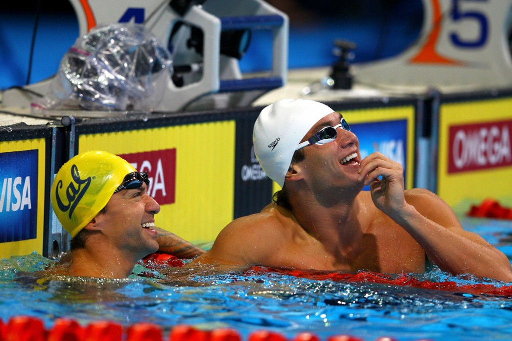 Anthony Ervin e Nathan Adrian - Foto: Getty Images