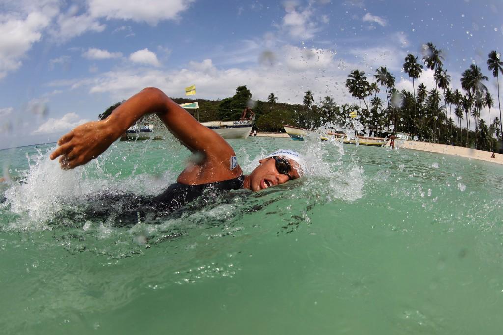 Allan do Carmo agora é hexa na Mar Grande-Salvador - Foto: Satiro Sodre/SSPress.