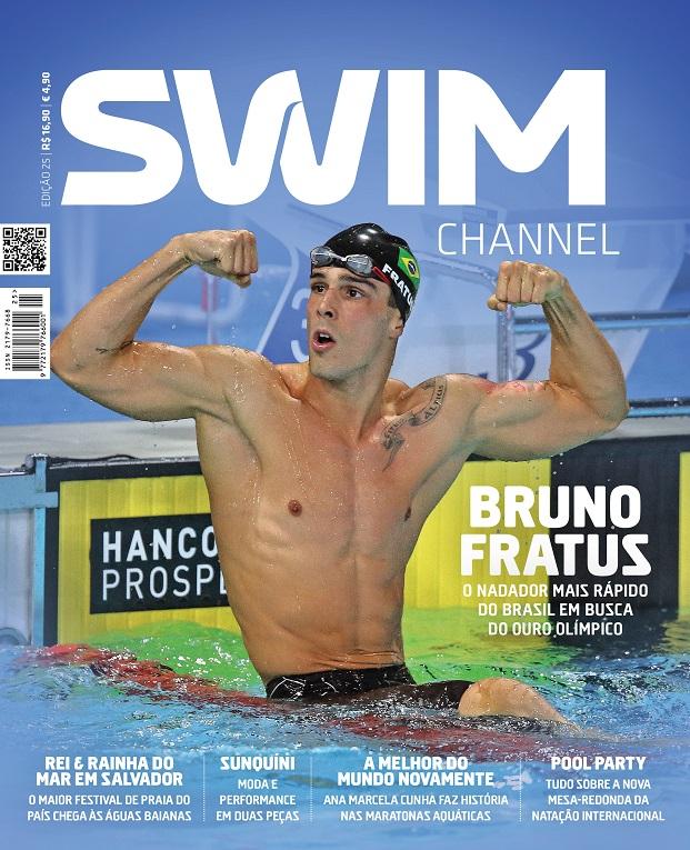 Capa da edição 25 da SWIM CHANNEL - Foto: Reprodução