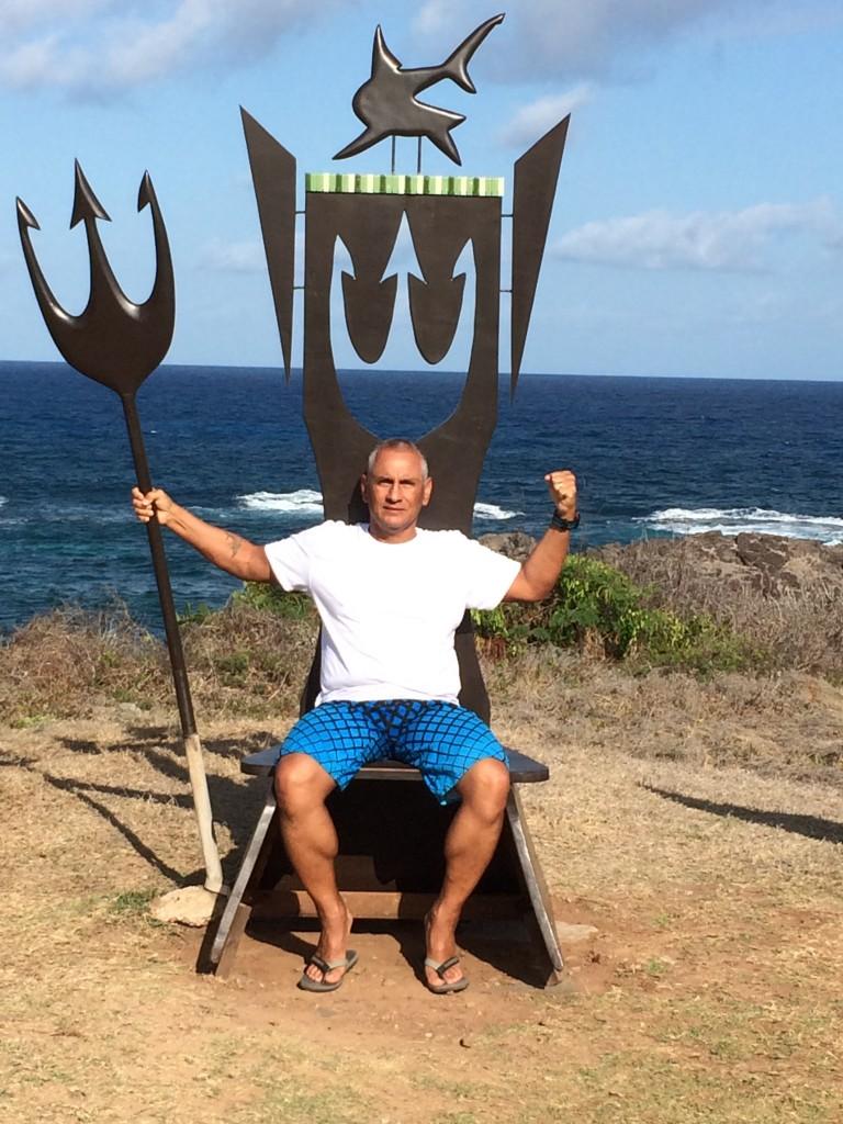 O nadador Paulo Amaral - Foto: Arquivo pessoal