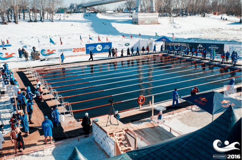 Vista da piscina do evento - Foto: Divulgação do evento