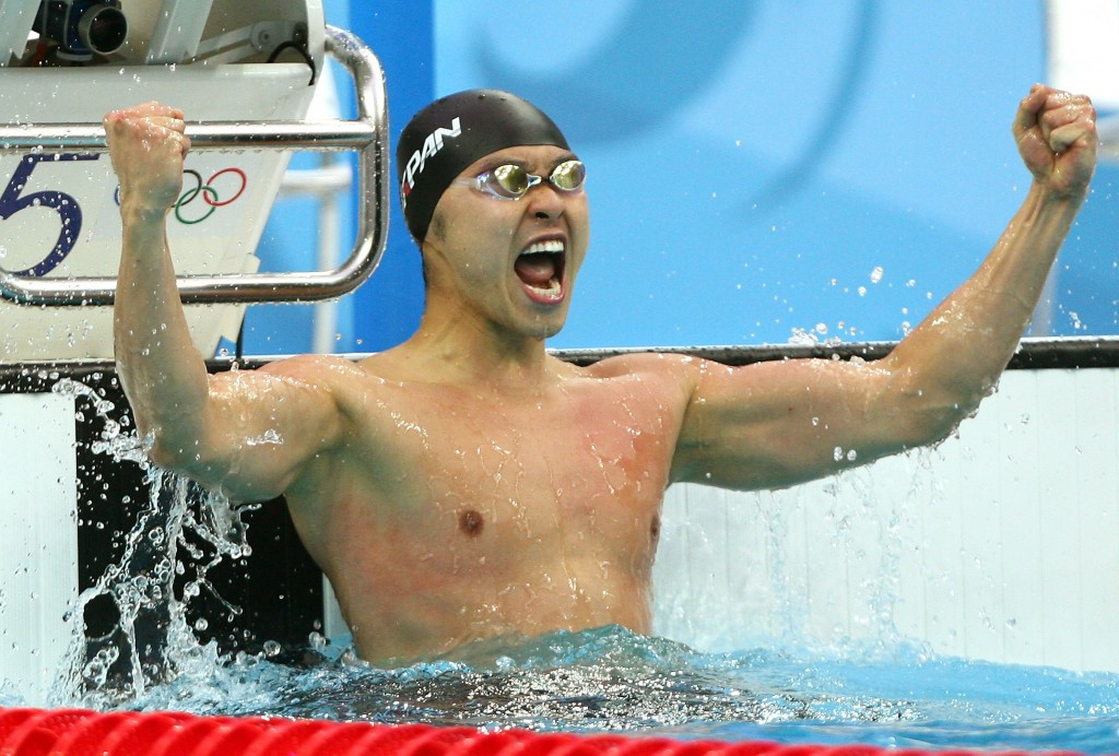 O japonês Kosuke Kitajima - Foto: Mike Hewitt/Getty Images