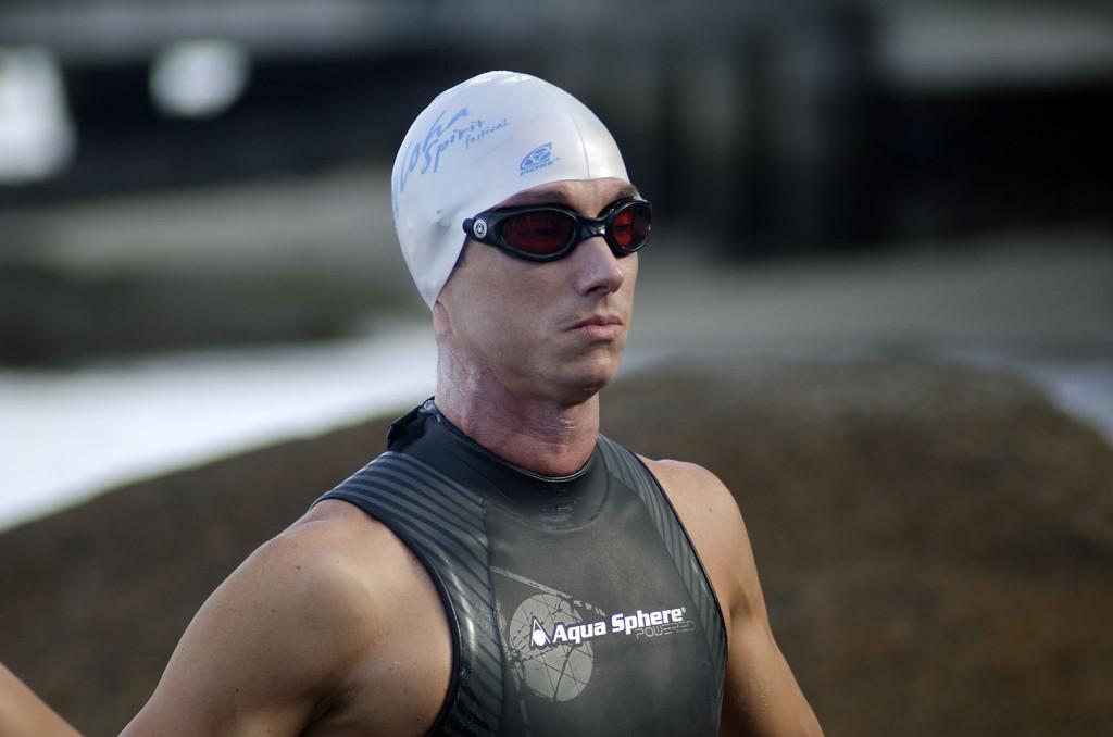 O nadador Marcos Campos - Foto: Aline Bassi/Balaio de Ideias