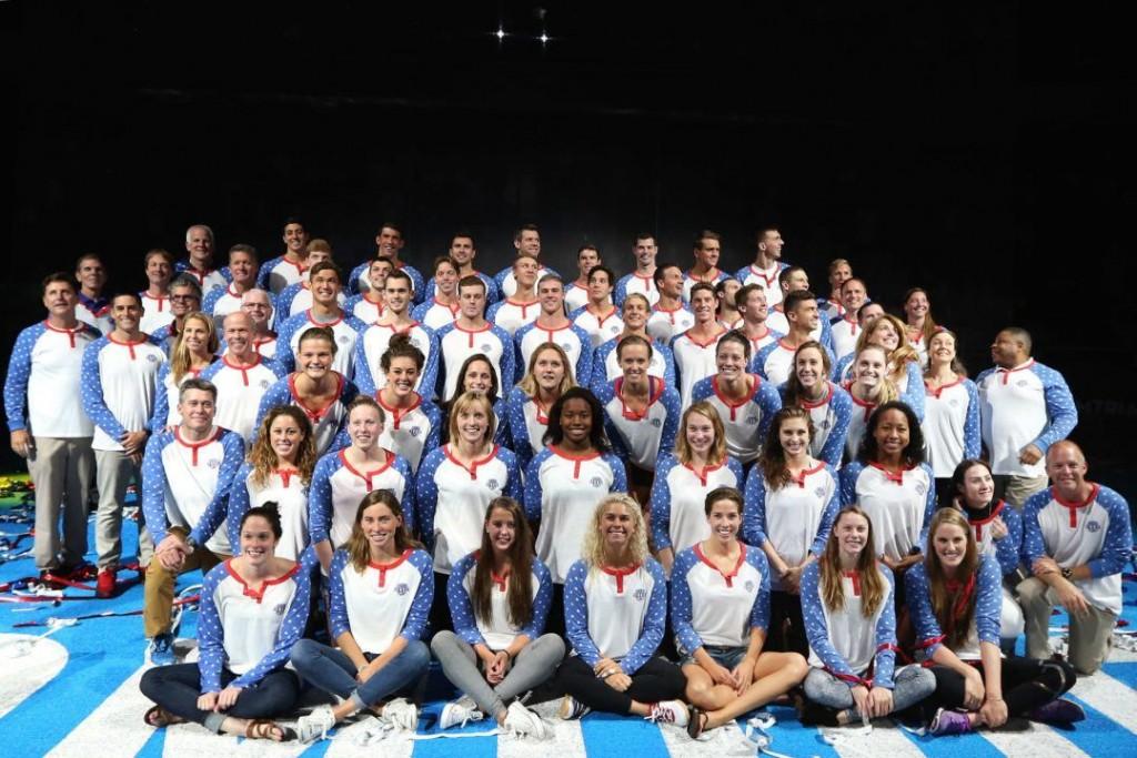Seleção dos 45 atletas americanos