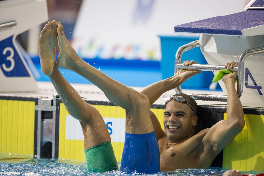 Andre Brasil nada sua terceira Paralímpiada – Jonne Roriz/MPIX/CPB